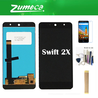 5.2 Inch For Wileyfox Swift 2X LCD Display Screen Touch Glass Sensor Assembly With Kit Black White Color