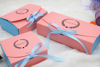 3 Size Cake Paper Box Party Gift Packaging Box Cookie Candy Nuts Box DIY Wedding Gift Packing Box Free shipping