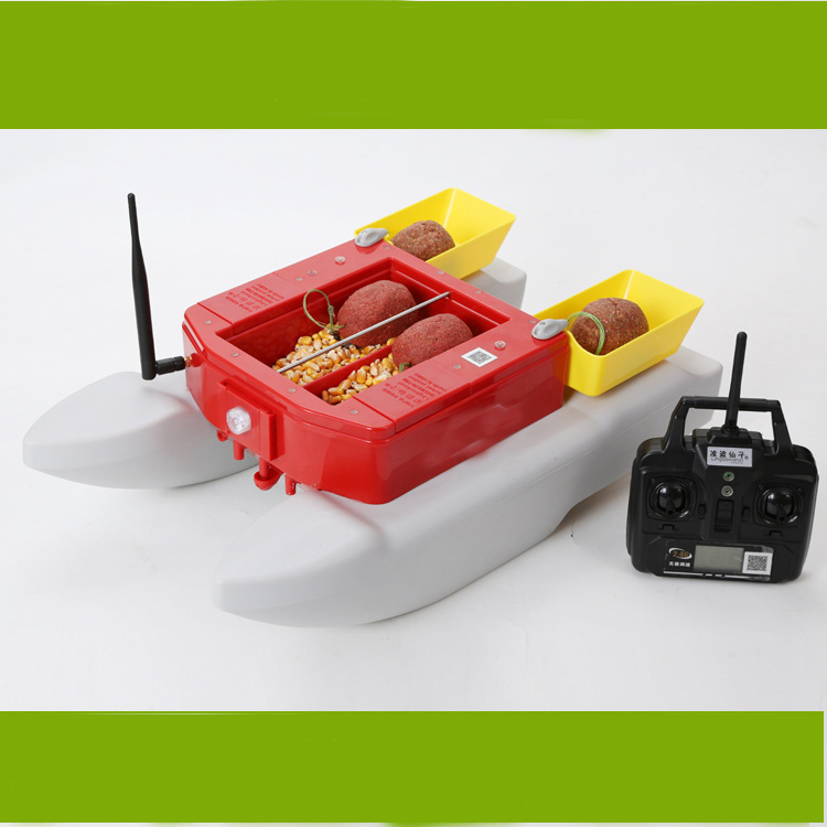 PDDHKK Fishing Lure Bait Fast Electric Bait Fishing Boat Waterproof 500M Remote Distance Fishing Finder Boat With Four Warehouse