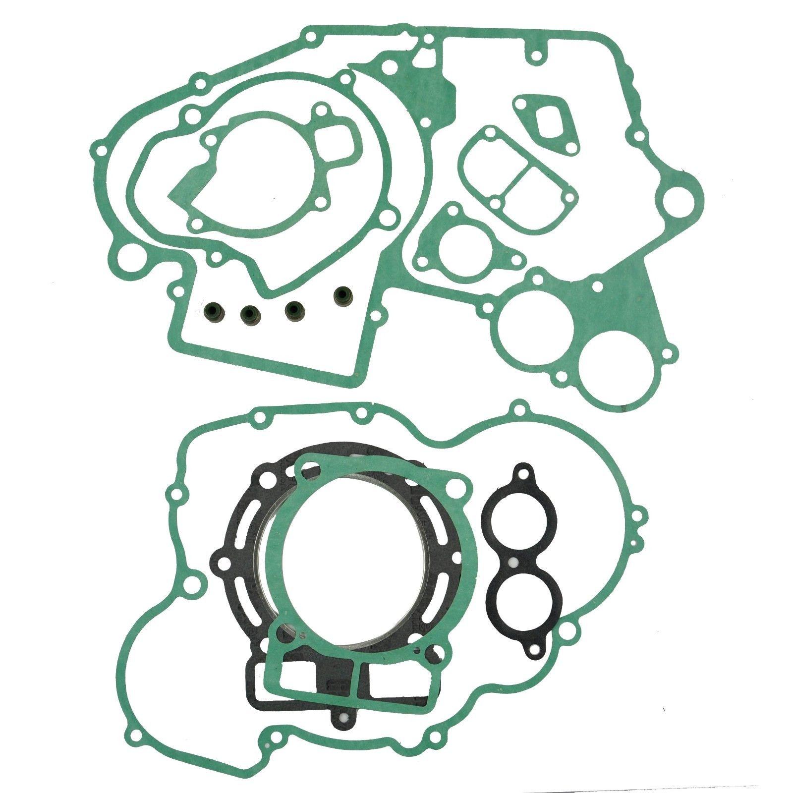 LOPOR For KTM 450SX 2003 2006 Engine Gasket Kit Cylinder Top End Crankcase Stator Clutch Cover