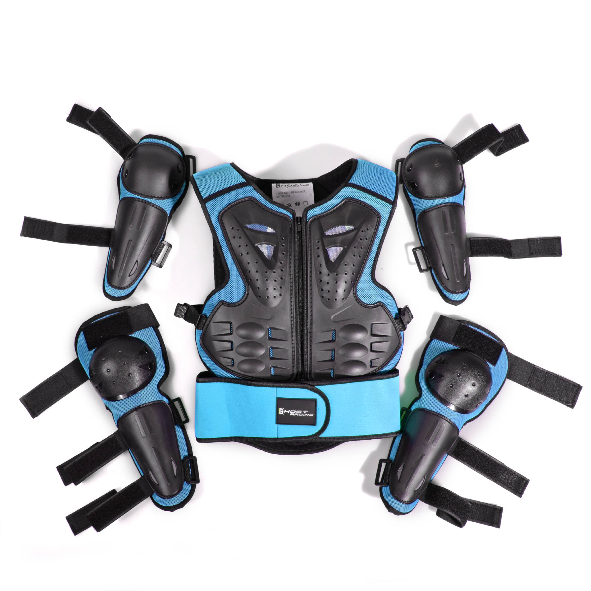Motorcycle Jacket Kids Riding Protection Armor Motorbike Motocross Equipment Racing Body Armor Ptotective Gears For Age