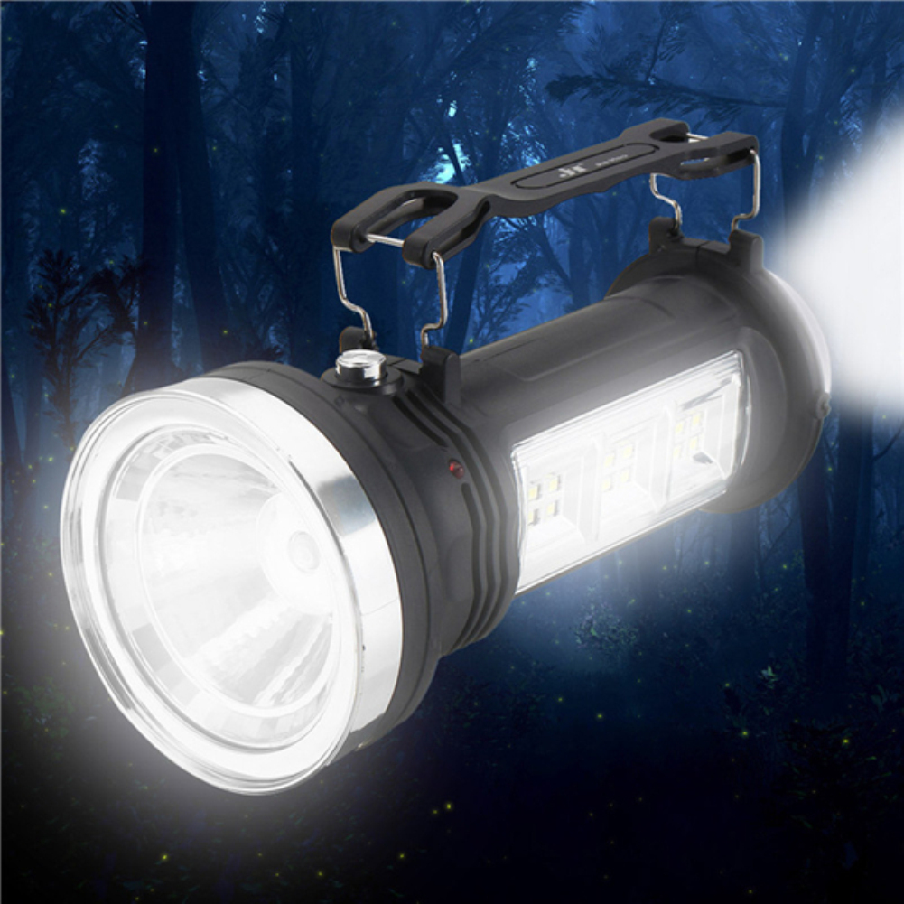 Contemplative Solar Charging Bicycle Light Magnetic Work Hand Flashlight Emergency Inspection Work Torch Light With Hook Portable Lantern Wide Selection; Bicycle Accessories
