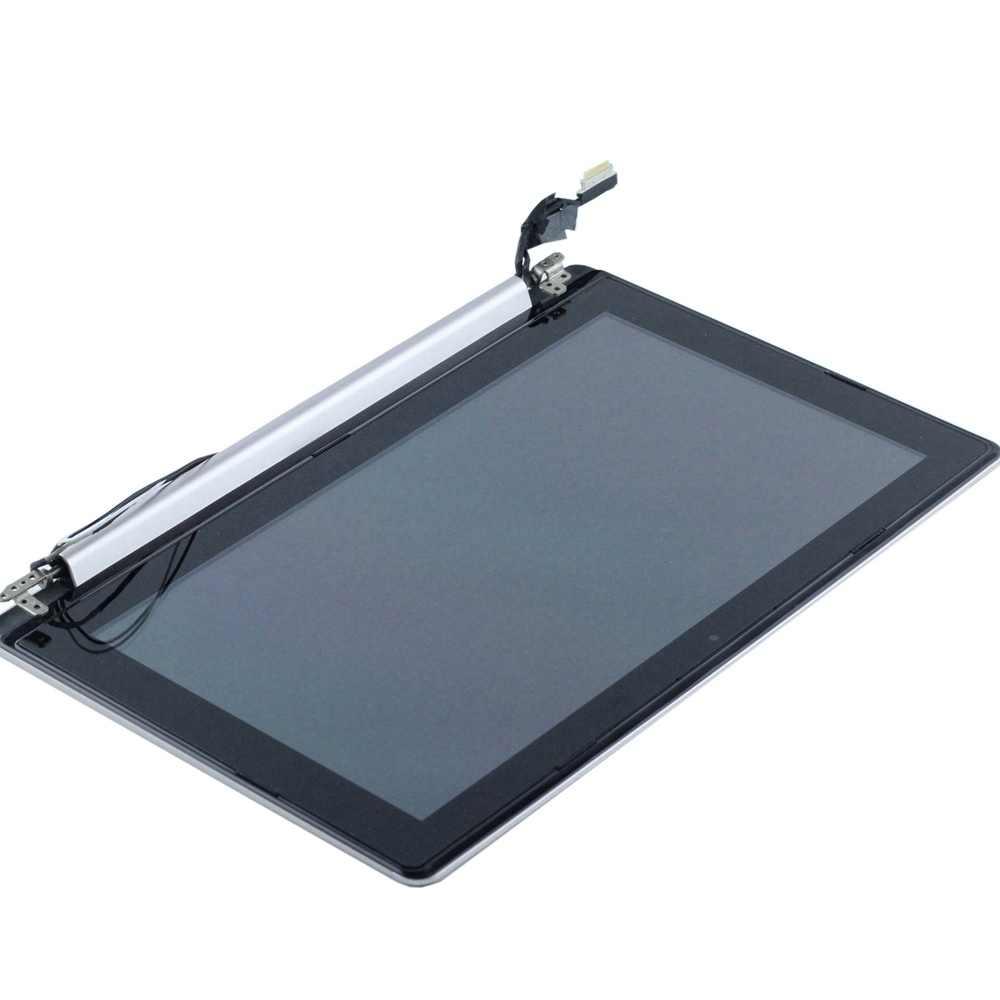 """WEIDA/ЖК-дисплей заменитель для 11,6 """"ASUS X202E X202 ЖК-дисплей Дисплей Сенсорный экран сборка Рамка B чехол Половина части полный Repl"""