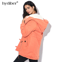 2015 Plus Size Women Winter Jackets Cotton Padded Female Version Long Section Cashmere Coat Winter Jackets