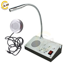 XJQ ZHUDELE Window Microphone Audio Record Intercom Interphone Speaker,Dual-Way Bank