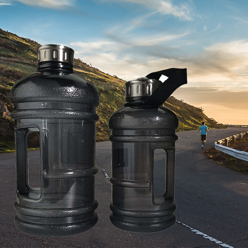 Gym Workout-Bottles Fitness-Training Half-Gallon Outdoor Sports Running 1000ML/2200ML