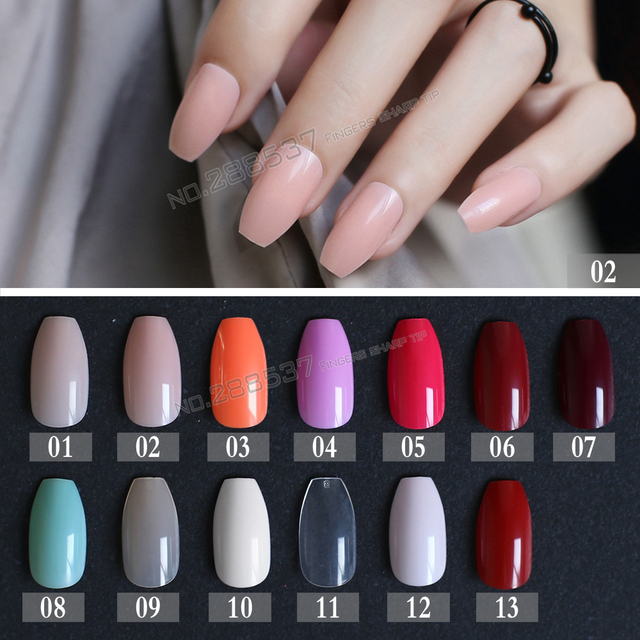 New hot false coffin nails rose soft pink nude red brown blue fake new hot false coffin nails rose soft pink nude red brown blue fake nail ballerinas nail prinsesfo Image collections