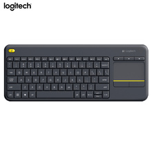 Logitech Wireless Touch Keyboard K400 Plus with Built In Touchpad for Internet Connected TVs