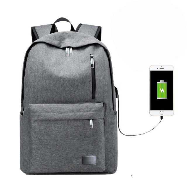 Creative Usb Charge Rucksack Haversack Backpack Unisex Adult Youth Student  Welcome Agent Businessman Drop Shipping Seller af1356cef97bb