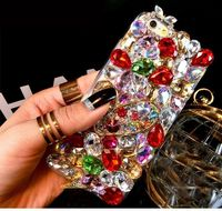 NEW COOL DIAMOND RHINESTONE BLING DIAMANTE CASE COVER GIFT FOR SAMSUNG GALAXY S7 S6 S5 S4