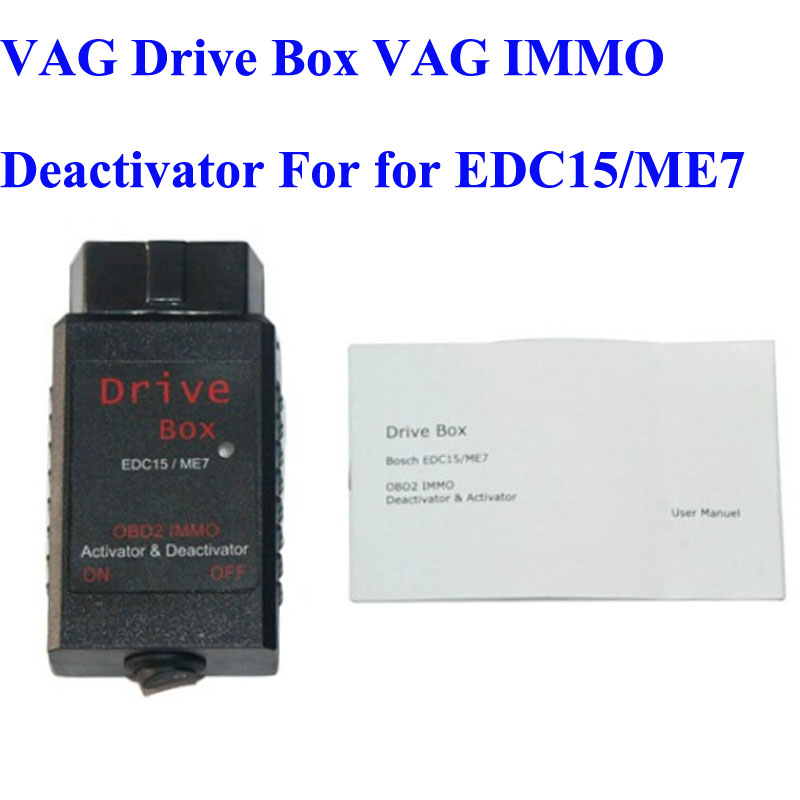 Prix pour Mieux Notés VAG Dur Box OBD2 OBD2 IMMO Deactivator Activator pour EDC15/ME7 VAG IMMO Désactivateur Livraison Gratuite LR10