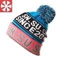 CaiZhongHai / B51 Color Letter Jacquard Pom pom Winter Hats For Women Men Beanie Knit Hats Warm Ski Skullies Beanie Caps