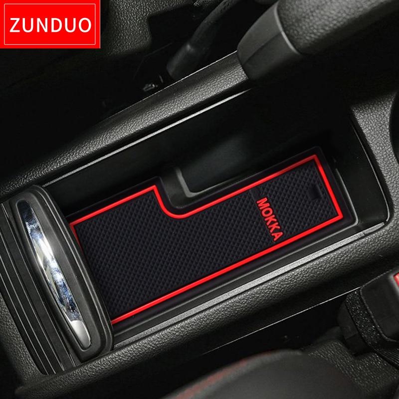 ZUNDUO Gate slot pad For For VAUXHALL Opel Mokka Accessories,3D Rubber Car Mat Interior Door Pad/Cup HoldersZUNDUO Gate slot pad For For VAUXHALL Opel Mokka Accessories,3D Rubber Car Mat Interior Door Pad/Cup Holders