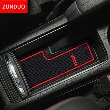 ZUNDUO ворота слот площадку для Vauxhall Opel Mokka интимные аксессуары, 3D автомобильный резиновый коврик межкомнатных дверей pad/подстаканники