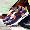 JARLIF Женщин Повседневная Обувь Весна Осень Lover Тренеры Дышащий Квартиры Ходьбы Обувь Zapatillas Хомбре Мода Обувь