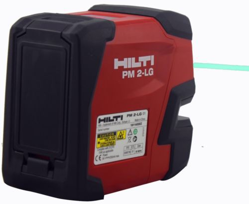 Laser Entfernungsmesser Test Hilti : Hilti laser niveau pm lg linie line grün