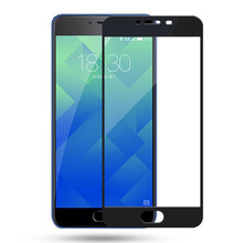 For Meizu M5 Clear Full cowl Display screen Protector Tempered glass 9H Extremely Skinny HD movie For Meizu Meilan 5 M 5 Glass Movie Display screen