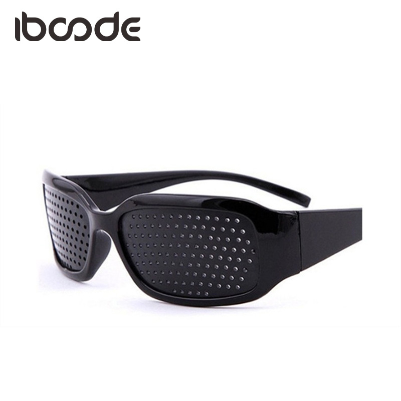 Iboode Fatigue Relieve Glasses Pinhole Anti-fatigue Eye Care Vision Care Eyeglasses Unisex Eyesight Exercise Protective Eyewear
