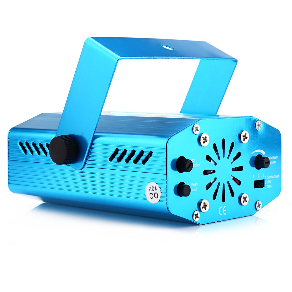 Mini LED Laser Projector Stage Light Portable Laser Lamp Christmas Moving Head for dance floor Disco Party KTV DJ light show