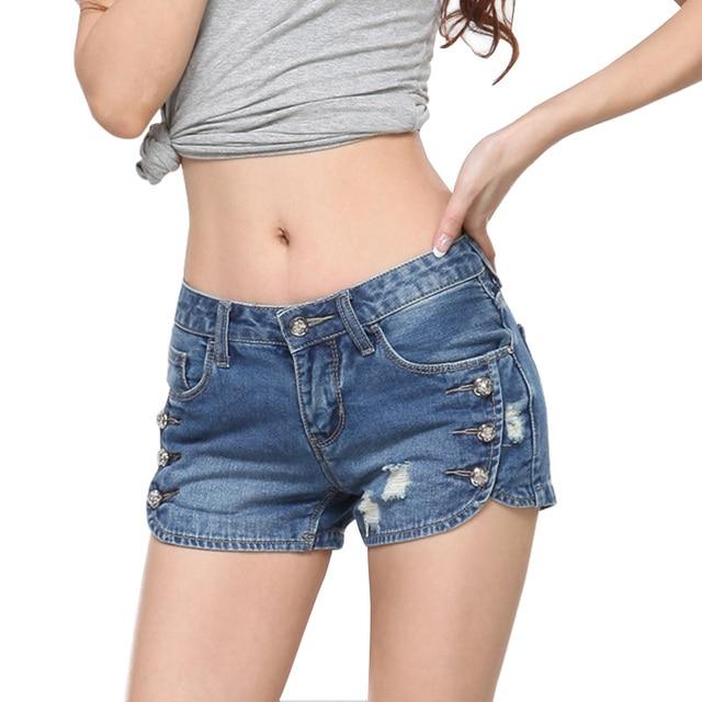 Aliexpress.com : Buy Hot sale denim shorts Summer women mid ...