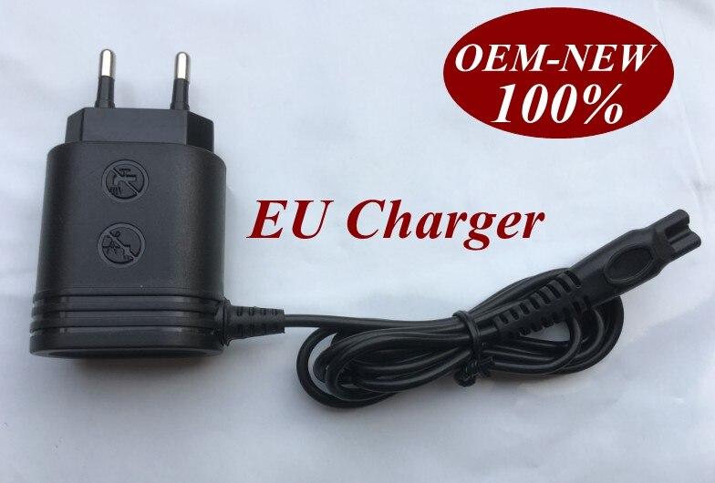 220-240V EU <font><b>Charger</b></font> Plug for <font><b>PHILIPS</b></font> Norelco HQ8 HQ9 HQ8140 HQ8142 HQ8150 HQ8160 HQ8170 HQ8174 PT920 HQ9100 HQ9140 HQ9160 HQ9170