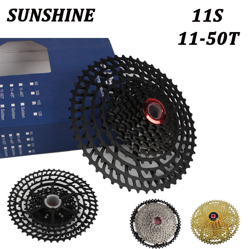 Cassettes, Freewheels & Cogs Ztto 11 Speed 11-52t Slr2 Mtb Bicycle Cassette Wide Ratio Freewheel For X 1 9000 Easy To Lubricate