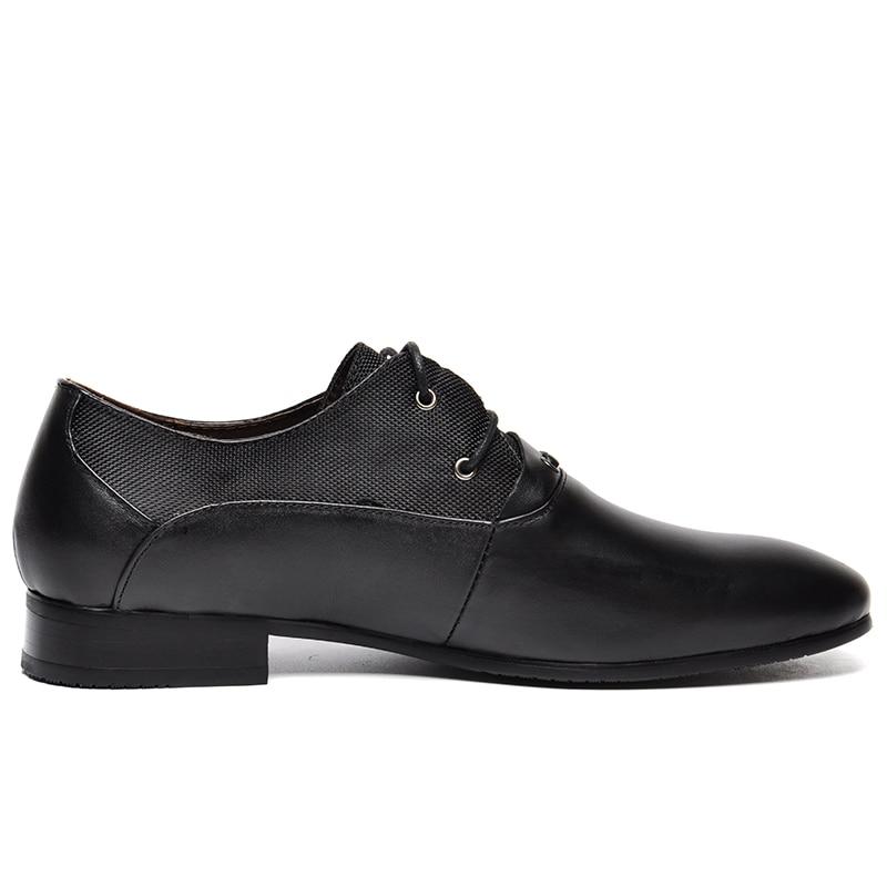 De Grande Calidad Black Boda brown 38 Cuero Hombres Zapatos Vestido Tamaño Auténtico Oxford Alta 50 Zapatos blue OFwqFdxp