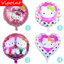VIPOINT PARTY 18inch Cats Foil Balloons 10 Pieces Wedding Event Christmas Halloween Festival Birthday Party HY-297