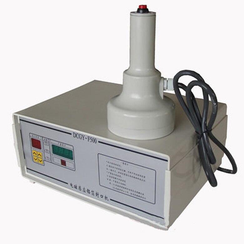 Обновление индукционная герметик Магнитоиндукционная бутылки Кепки запайки 220 В