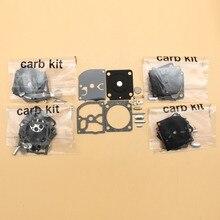 Kit de réparation de diaphragme pour carburateur, 5 ensemble/lot, pour STIHL BG45 BG55 BG65 BG85 SH55 SH85 FS 38 55 120 200 250 300 350 Zama C1Q S68G