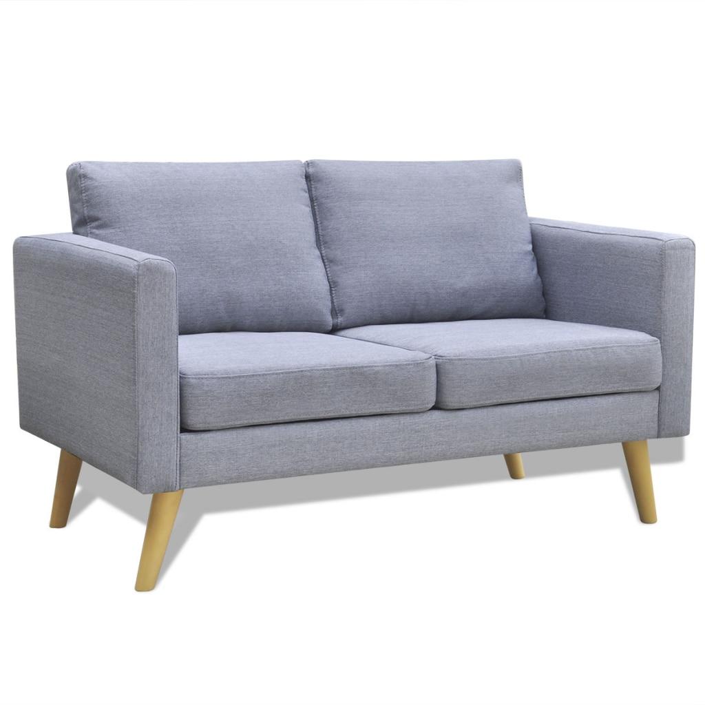 IKayaa Elegant 2 Seater Sofa Good Quality Sofa Bed Modern
