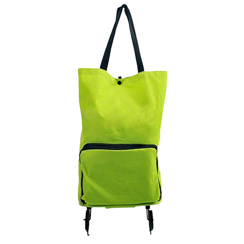 5 pcs of Lightweight Foldable Shopping Trolley Wheel Folding Bag Traval Cart Luggage HOT