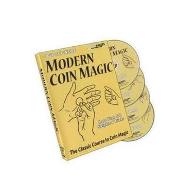 Magiczne urządzenie-nowoczesne monety magiczne (1-4) magiczne sztuczki tanie i dobre opinie Różne rekwizyty 8-11 lat STARSZE DZIECI 8888 Unisex Etap Brzmienie Nauka ulica Dla magików Profesjonalne Zniknięcie