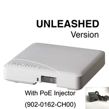 Ruckus Wireless Desencadeou R500 9U1 R500 WW00 (iguais 9U1 R500 US00) + Ponto de Acesso PoE Injector 902 0162 CH00 Dual Band 802.11ac