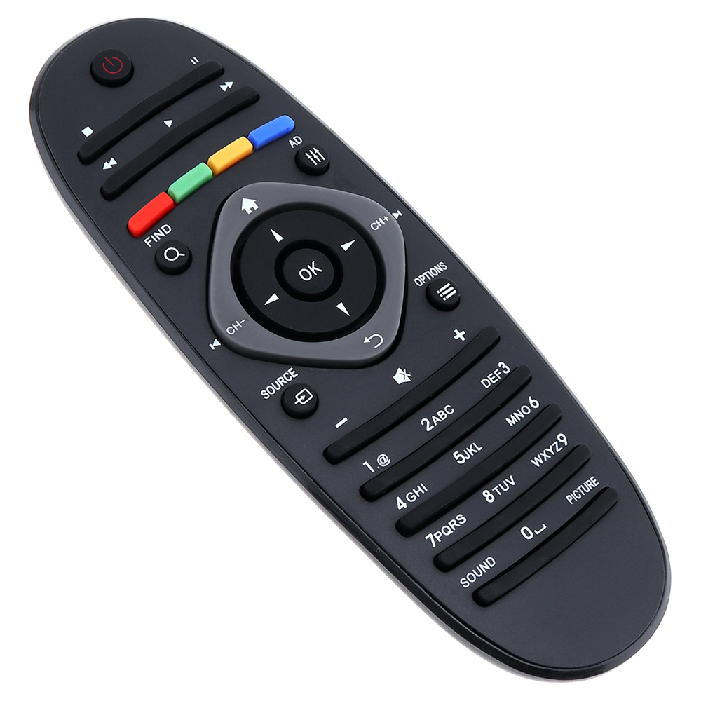Image 4 - 1PC Universal Philips TV Remote Control Smart Digital Replacement Remote Controller Support 2 x AAA Batteries for Philips TV/DVD-in Remote Controls from Consumer Electronics