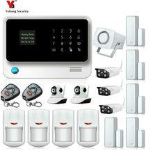 Yobang Security WIFI GSM Alarmas De Seguridad Para Casa Home Security Alarm System IOS/Android Remote Control Cameras Kits