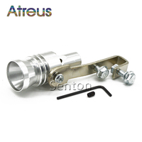 Auto Turbo Sound Whistle Simulator Uitlaatpijp Voor Audi A3 A4 B6 B8 B7 A6 C5 C6 Q5 A5 Q7 tt A1 Skoda Octavia 2 A7 A5 Superb Yeti
