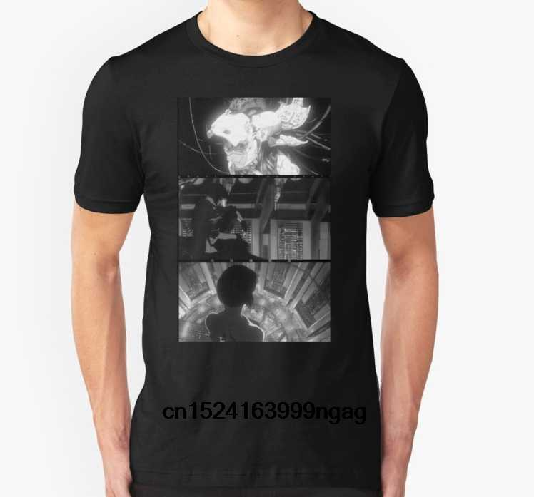 c712ad79 Fashion Cool Men T shirt Women Funny tshirt ghost in the shell Customized Printed  T-