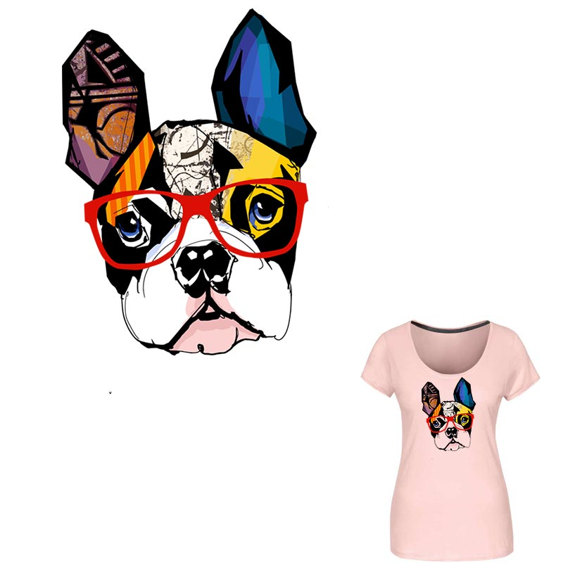 foto de Fashion Bulldogs Patches For Clothing A level Washable Eco ...