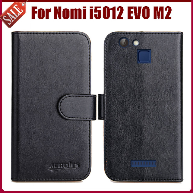 Hot Sale! Nomi i5012 EVO M2 Case New Arrival 6 Colors High Quality Flip Leather Protective Cover For Nomi i5012 EVO M2 Case