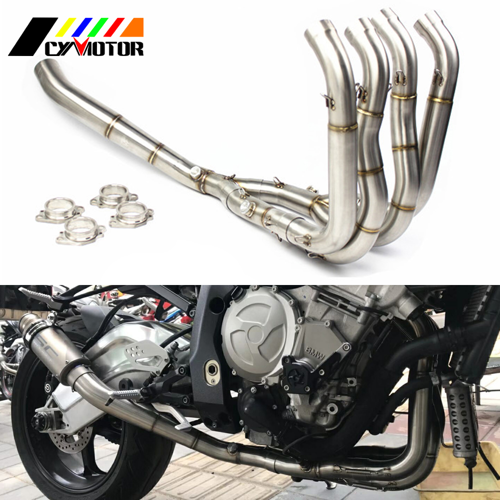 Motorcycle Full Exhaust System Slip-On Pipe Tube For BMW S1000RR S1000 RR 2010 2011 2012 2013 2014 2015 2016 2017 2018 big bricks building blocks base plate 51 25 5cm 32 16 dots baseplate diy bricks toy compatible with major brand blocks