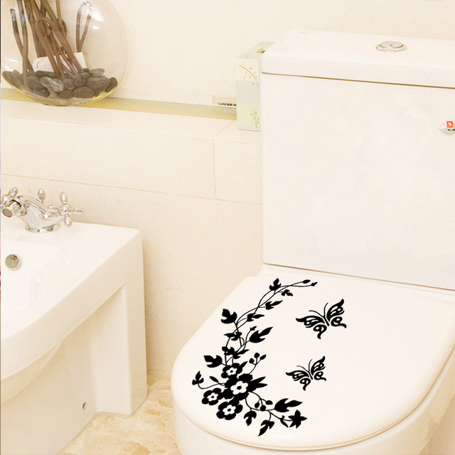 Classic Butterfly Flower Stickers 8