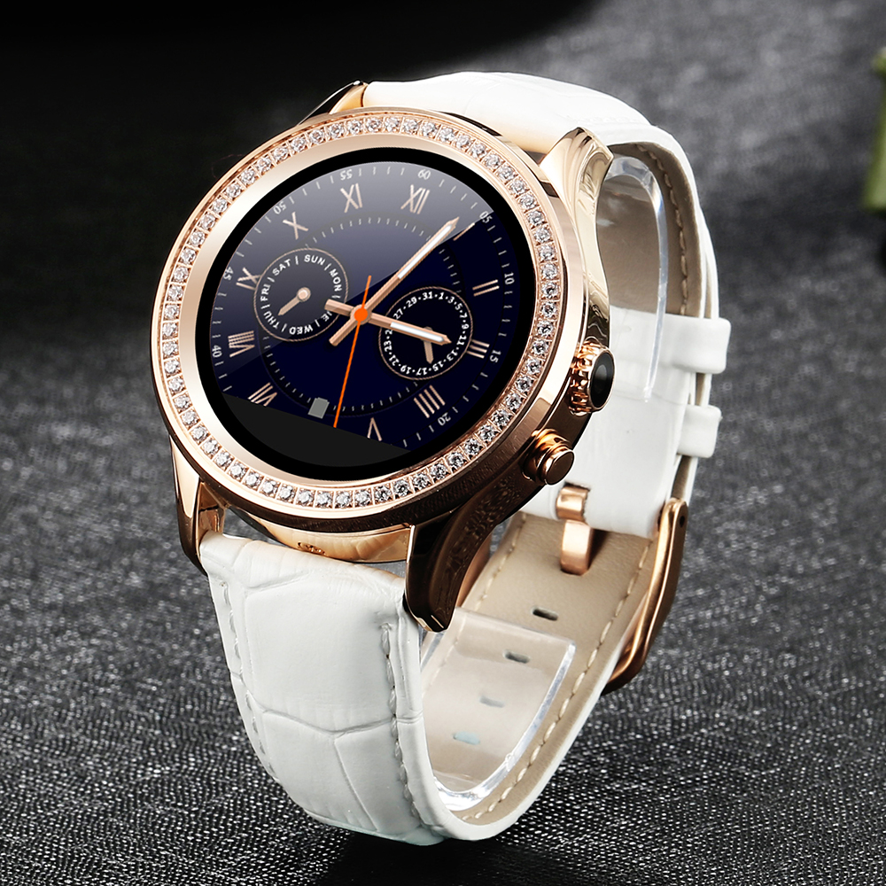Bling Diamond Smartwatch Heart Rate W8 for Samsung Apple Huawei Xiaomi  Women Bracelet Waterproof Monitor Anti lost Bluetooth-in Smart Watches from  Consumer ... 39ecca2215