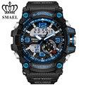 Большие Спортивные Часы для Мужчин Мода СВЕТОДИОДНЫЕ Электронные Часы Кварцевые С Шок Наручные Часы reloj hombre relogios masculino Мужчины Подарки WS1617