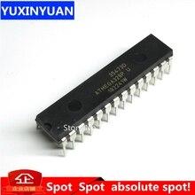 10 ชิ้น/ล็อตATMEGA328PชิปATMEGA328 ATMEGA328P PU MCU AVR 32K 20MHzแฟลชDIP 28