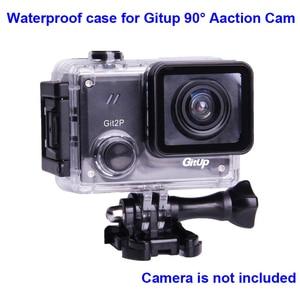 Image 1 - מקורי מתחת למים מקרה עבור G3 Git3 GITUP Git2 Git2P 90 תואר צלילה 30M עמיד למים דיור קיצוני קסדת מיני פעולה מצלמת