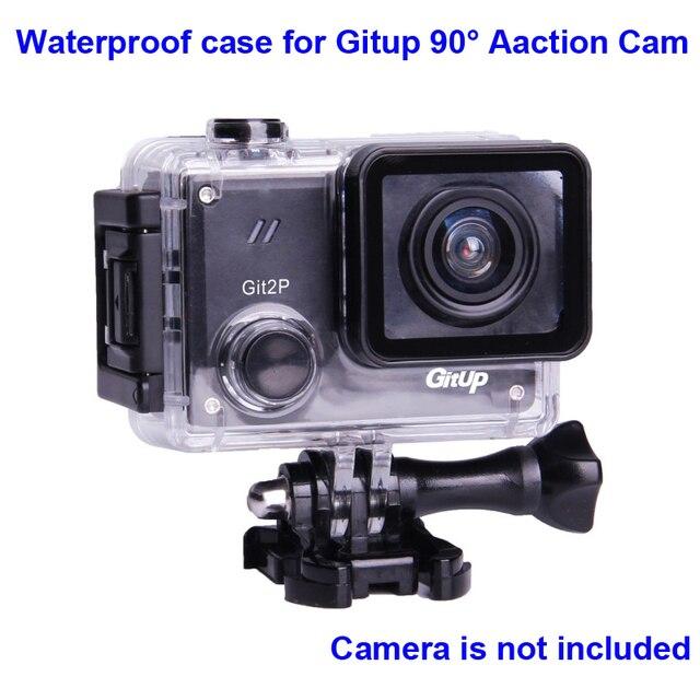 מקורי מתחת למים מקרה עבור G3 Git3 GITUP Git2 Git2P 90 תואר צלילה 30M עמיד למים דיור קיצוני קסדת מיני פעולה מצלמת