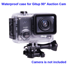 Original Underwater Case for G3 Git3 GITUP Git2 Git2P 90 Degree Diving 30M Waterproof Housing extreme Helmet Mini Action Cam