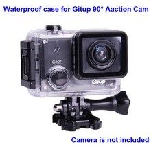 Oryginalna obudowa podwodna do G3 Git3 GITUP Git2 Git2P 90 stopni nurkowanie 30M wodoodporna obudowa ekstremalny kask Mini Action Cam