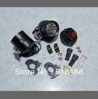 1set Moto LED Work Spot Light 12W 9000 Lumen 1 Cree XML T6 4T6 LED Motorcycle